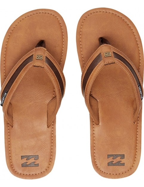Billabong Seaway Canvas Sandals in Antique