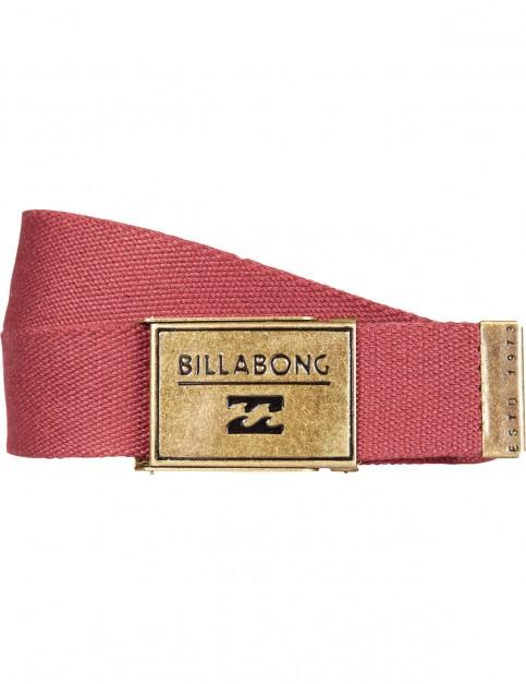 Billabong Sergeant Webbing Belt in Fig