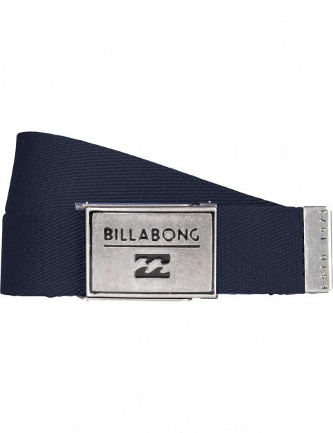 Billabong Sergeant Webbing Belt in Denim