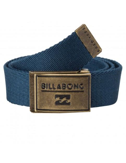 Navy Billabong Sergeant Webbing Belt