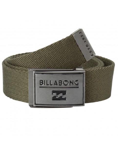 Dark Olive Billabong Sergeant Webbing Belt