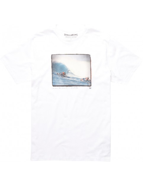 Billabong Shane Short Sleeve T-Shirt in White
