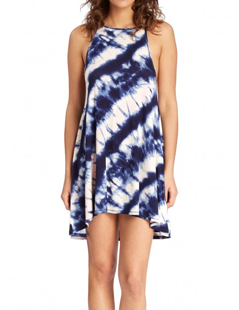 Billabong Sing Along Dress in Blue Jay