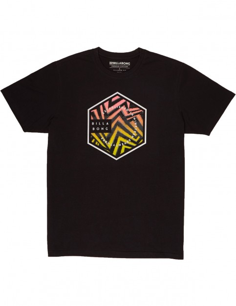 Billabong Six Short Sleeve T-Shirt in Black
