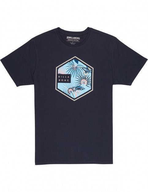 Billabong Six Short Sleeve T-Shirt in Navy