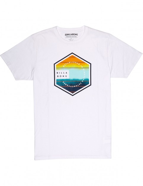Billabong Six Short Sleeve T-Shirt in White