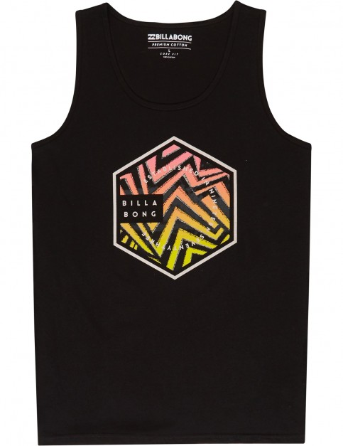 Billabong Six Sleeveless T-Shirt in Black