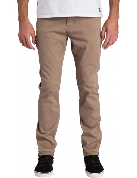 Billabong Slim Outsider Slim Leg Trousers in Khaki