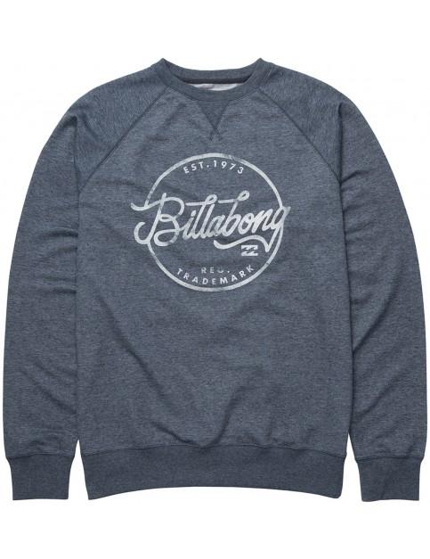 Navy Billabong Sloop Crew Sweatshirt
