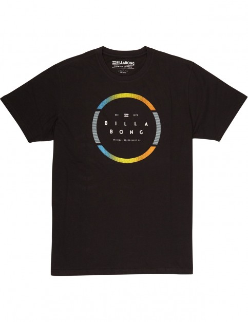 Billabong Spinning Short Sleeve T-Shirt in Black