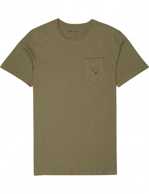 Billabong Stacked Short Sleeve T-Shirt in Midnight