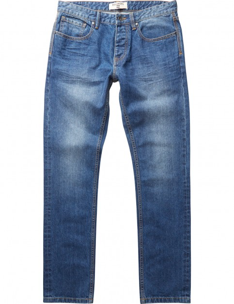 Billabong Straight Fifty Straight Fit Jeans in Salty Wash