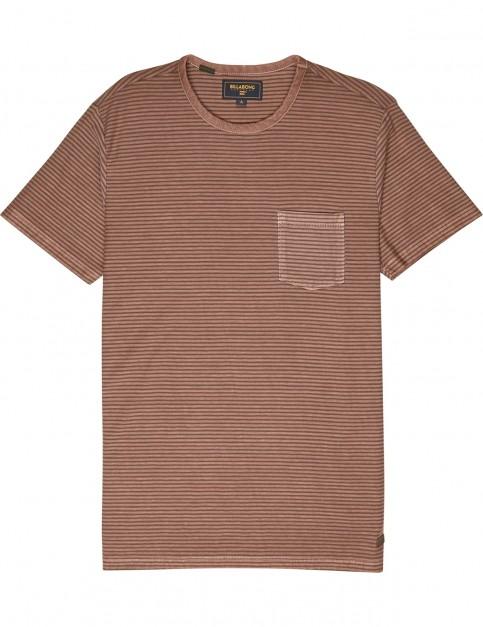 Billabong Stringer Short Sleeve T-Shirt in Hazel