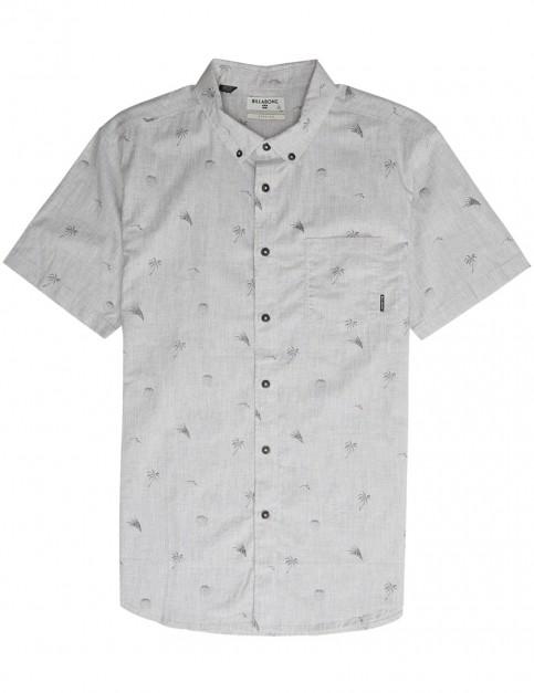 Billabong Sundays Mini Short Sleeve Shirt in Oatmeal