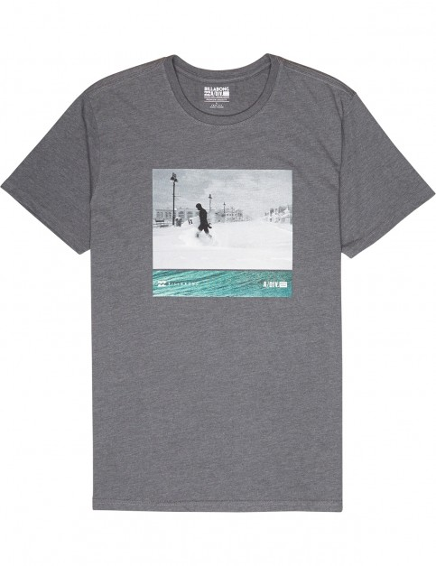 Billabong Swell Seeker Short Sleeve T-Shirt in Grey
