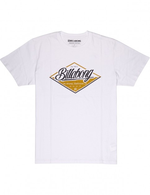 Billabong T Street Short Sleeve T-Shirt in White
