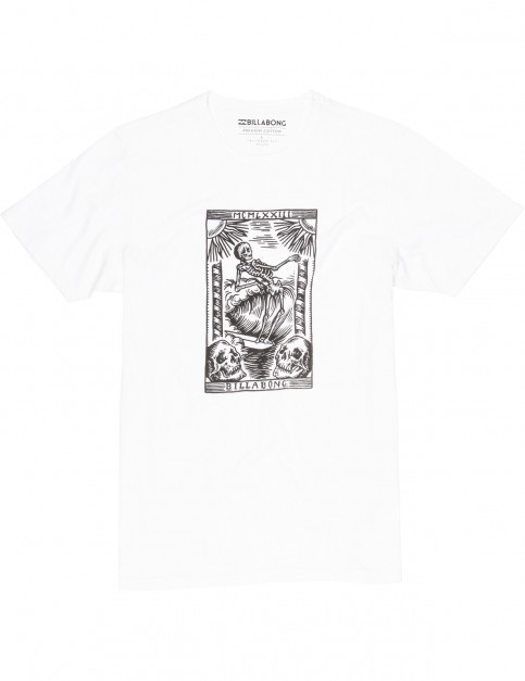 Billabong Tarot Short Sleeve T-Shirt in White