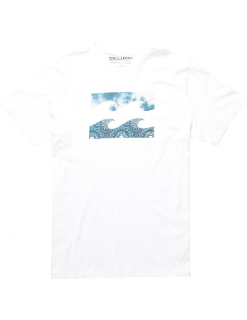 Billabong Team Wave Short Sleeve T-Shirt in White