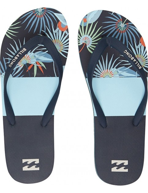 Billabong Tides Tribong Canvas Sandals in Blue