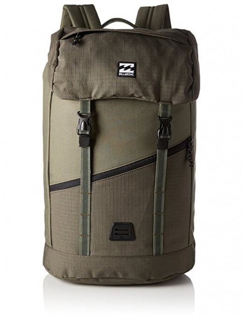 Billabong Track Backpack in Grey Heather