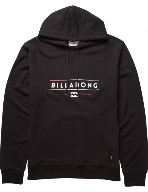 Billabong Tri Unity Pullover Hoody in Black