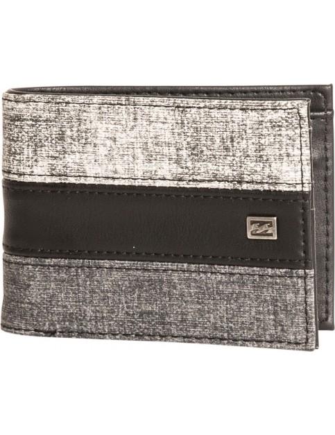 Billabong Tribong Faux Leather Wallet in Black