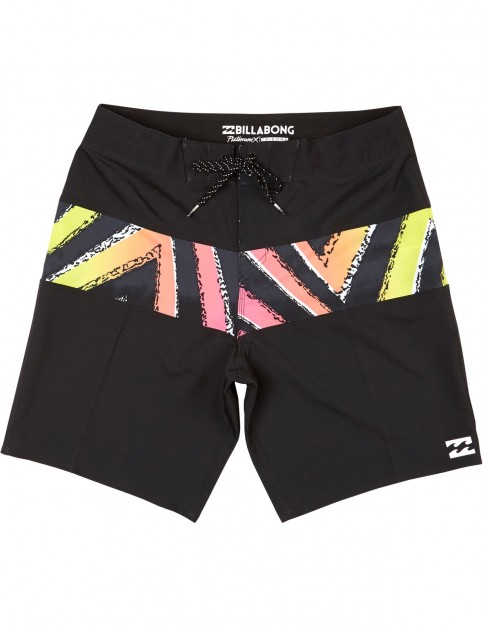 Billabong Tribong Mid Length Boardshorts in Black