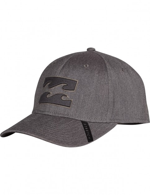 Billabong Tribong Stretch Cap in Grey Heather