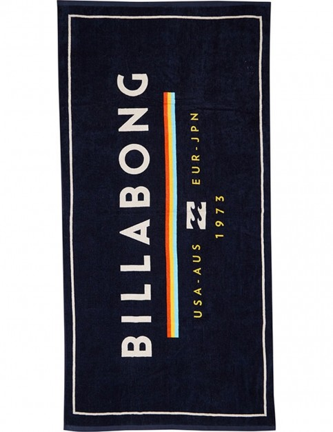 Billabong Unity Beach Towel in Navy