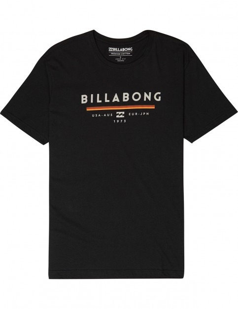 Billabong Unity Short Sleeve T-Shirt in Black