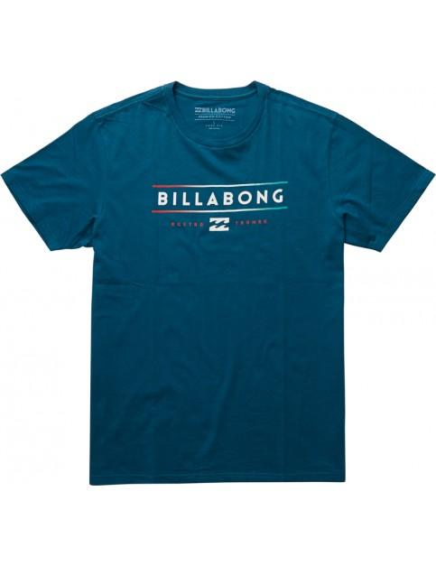 Billabong Unity Short Sleeve T-Shirt in Dark Marine
