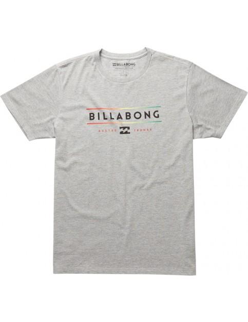 Billabong Unity Short Sleeve T-Shirt in Grey Heather