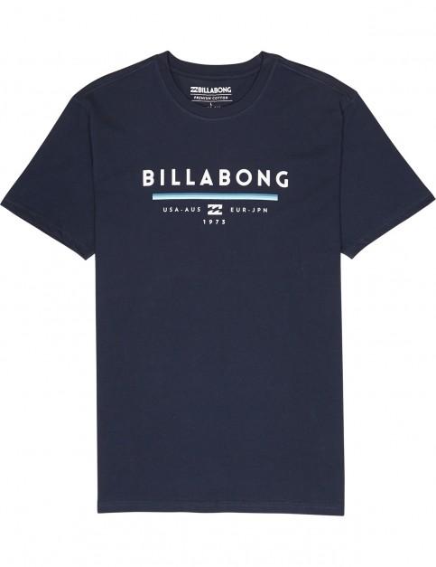 Billabong Unity Short Sleeve T-Shirt in Navy