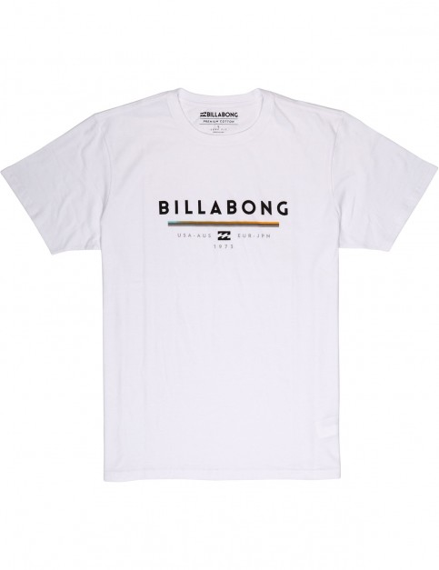 Billabong Unity Short Sleeve T-Shirt in White