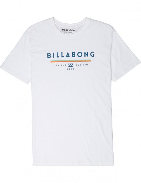 Billabong Unity Short Sleeve T-Shirt in White