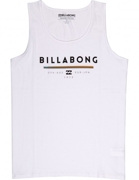 Billabong Unity Sleeveless T-Shirt in White
