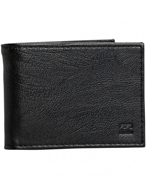 Billabong Vacant Faux Leather Wallet in Black