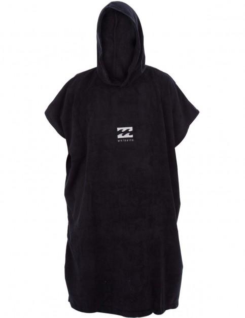 Billabong Vader Hoodie Towel in Black