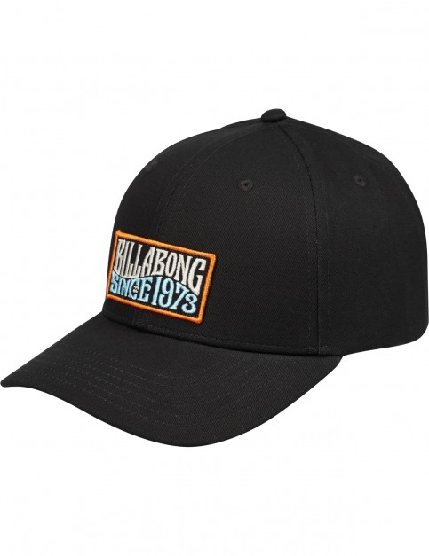Billabong Walled Snapback Cap in Black