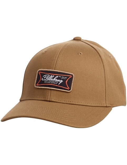 Billabong Walled Snapback Cap in Carmel