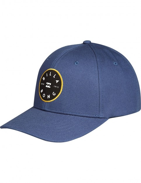 Billabong Walled Snapback Cap in Navy