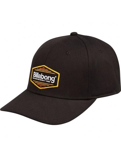 Billabong Walled Stretch Cap in All Black