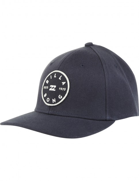 Billabong Walled Stretch Cap in Navy