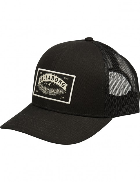 Billabong Walled Trucker Cap in Black