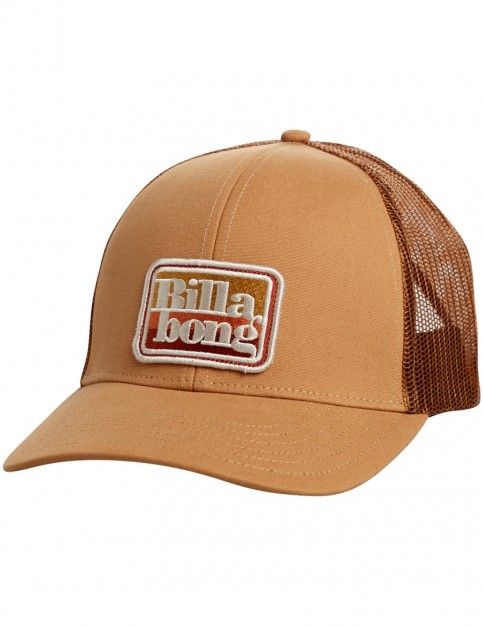 Billabong Walled Trucker Cap in Caramel