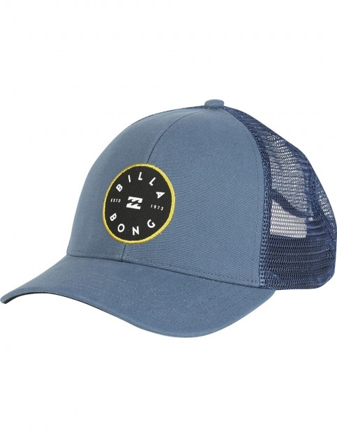 Billabong Walled Trucker Cap in Navy