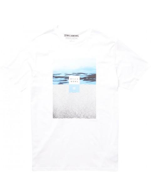 White Billabong Witness Short Sleeve T-Shirt