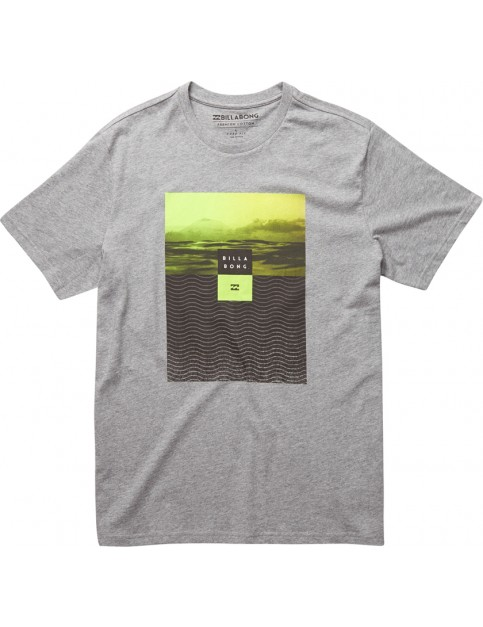 Billabong Witness Short Sleeve T-Shirt in Grey Heather