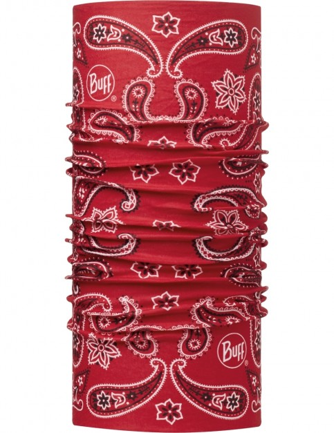 Buff Cashmere Red Neck Warmer in Cashmere Red