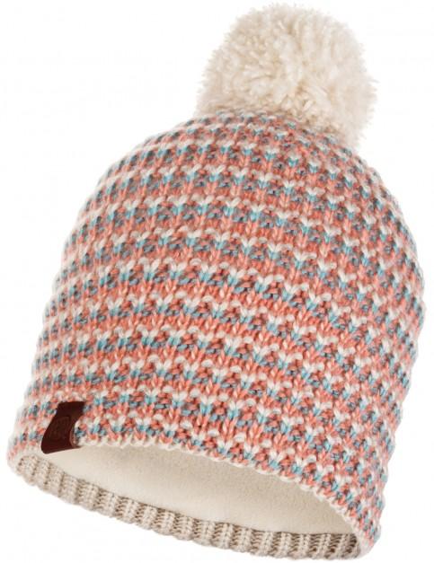 Buff Dana Knitted Bobble Hat in Multi